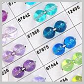 crystal coated beads - I.